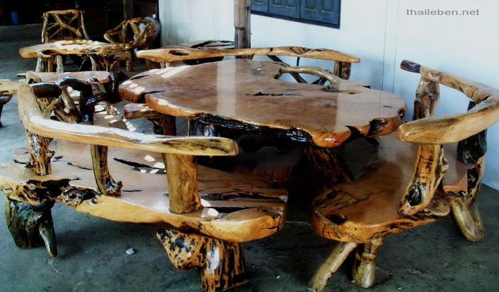 Holzmöbel  Thaileben - Mehr Bilder